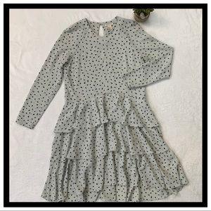 H&M Tiered Ruffle Dress